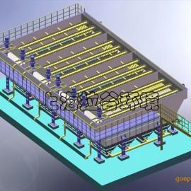 上海拉谷 LGXC100-1000B高效组合沉淀池