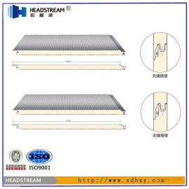 聚氨酯墙面板 聚氨酯夹芯板供应商