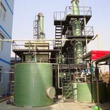 喷涂车间30吨废气喷淋塔(吸收装置)效率达标