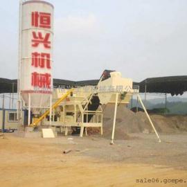 二灰稳定土拌合站 稳定土厂拌设备 二灰拌合�
