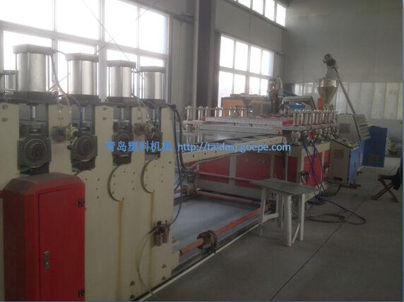 PVC塑料建筑模板生产设备