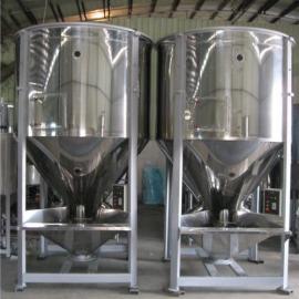 大型立式混料�C�S家 再生回收料��拌�C
