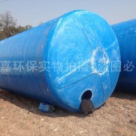 威嘉环保优质品牌 50立方抗压玻璃钢化粪池