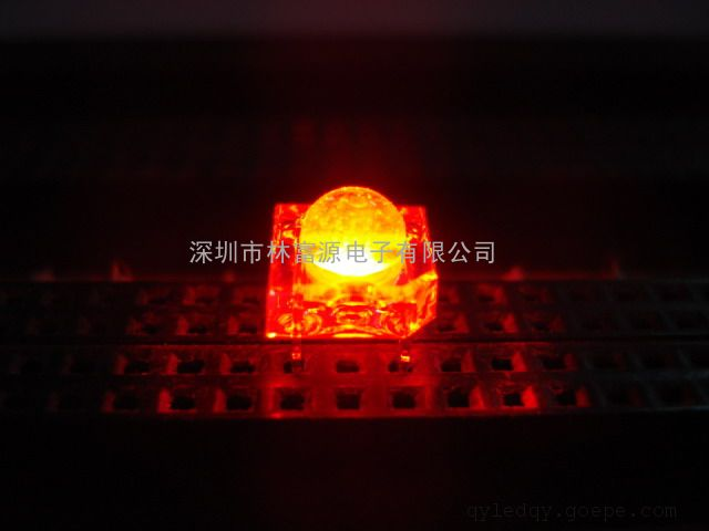 LED汽车食人鱼车灯 14mil晶元红光高亮度食人鱼车灯