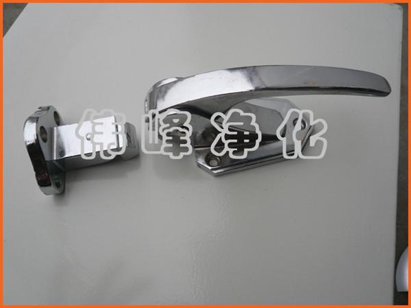 [特价]传递窗小拉手 机械锁拉手 联锁装置100mm把手长