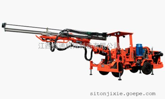 DW1-31轮胎式单臂全液压凿岩钻车