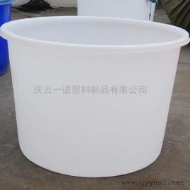600升pe圆通,腌菜专用600公斤大白桶