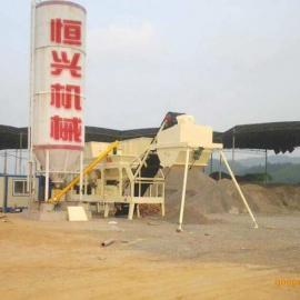 水泥稳定土拌和站 恒兴机械稳定土拌合站设备 水稳拌和站