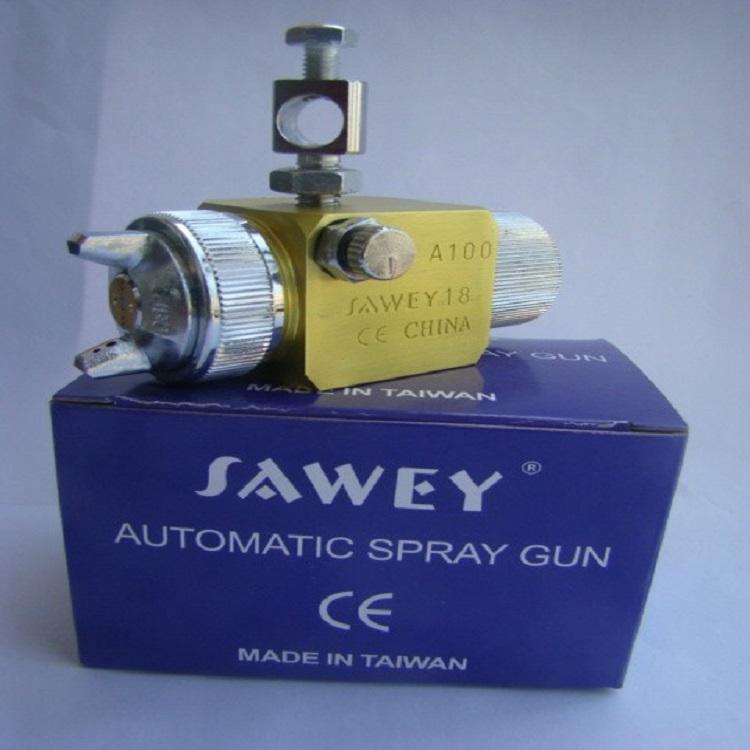 台湾萨威A-100吸塑自动喷枪 润滑油自动喷枪 自动喷头