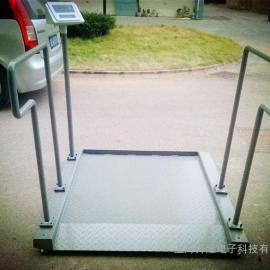 轮椅体重秤,碳钢带打印斜坡轮椅秤