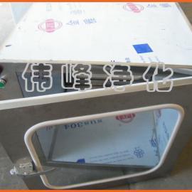 不锈钢传递窗600*600*600外尺寸(机械锁)传递柜