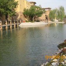 """天津""""玛歌庄园""""欧式别墅景观水处理"""