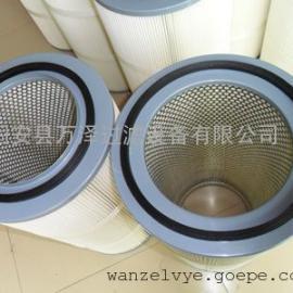 水泥仓顶除尘器除尘滤芯 3290搅拌楼塑料端盖除尘滤芯