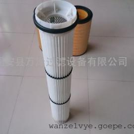 塑料盖干燥机覆膜纤维滤芯 防水除尘滤芯