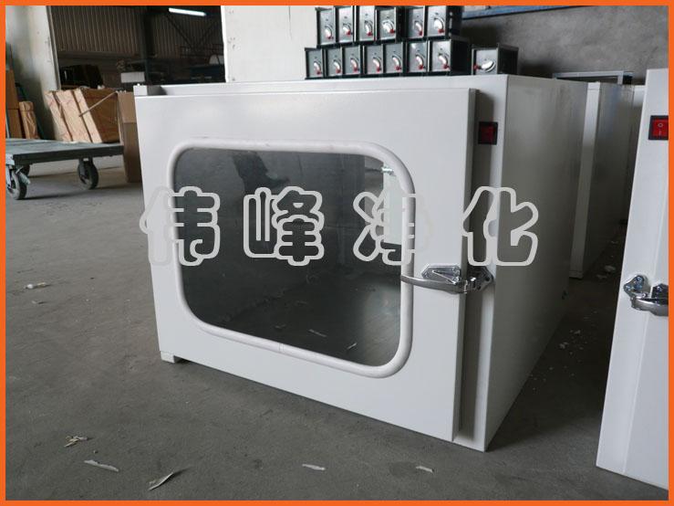 钢板传递窗 机械传递窗外1000*1000*1000