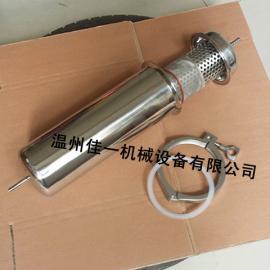 温州厂家定做皮管连接不锈钢直通管道过滤器、不锈钢液体过滤器