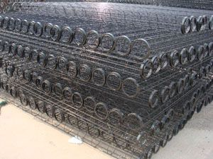 大型除尘器骨架 电厂除尘骨架 水泥厂气箱脉冲袋式除尘器框架