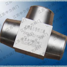天燃气专用焊接三通接头