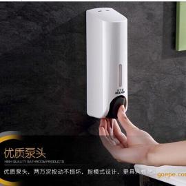 酒店/家庭/厨房/浴室双头皂液器沐浴露盒洗手动给皂机 厂家批发价