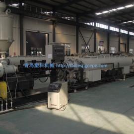 PE燃气管,供水管生产线