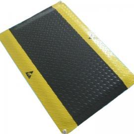 PVC抗疲劳地垫+防滑抗疲脚垫+无味防静电桌垫+静电桌垫