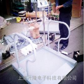 电子轮椅秤,带打印不锈钢轮椅电子秤