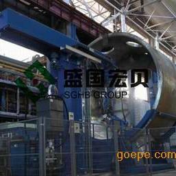 盛国宏贝容器支管机器人埋弧焊焊接工作站