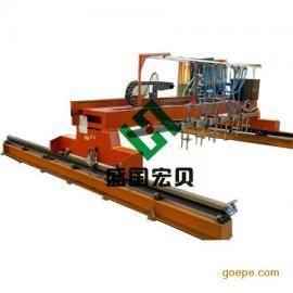 盛国宏贝龙门式直条切割机