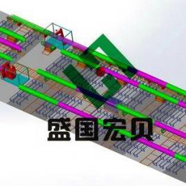 盛国宏贝油气管道预制生产线,管道预制线焊接技术