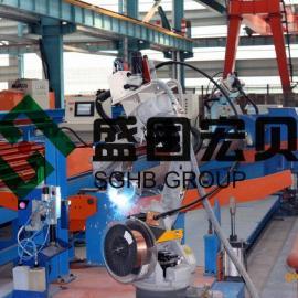 盛国宏贝管法兰机器人弧焊系统,机器人管道焊接技术