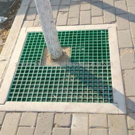 北京玻璃钢制品厂家厂价供应玻璃钢环保型绿色树坑保护装饰板