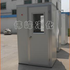 单人单吹彩钢板风淋室FLS-1A(三门) (大风机)