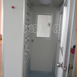 单人单吹 内不锈钢外彩钢板风淋室FLS-1A(大风机)