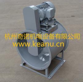 KT40-8耐高温150度皮带轮传动电机外置式轴流通风机
