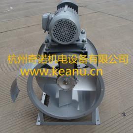 杭州厂家直销KT40-6耐高温皮带轮电机外置式轴流通风机