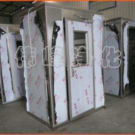内外侧不锈钢板 洁净风淋房FLS-1A 单人单吹风淋室