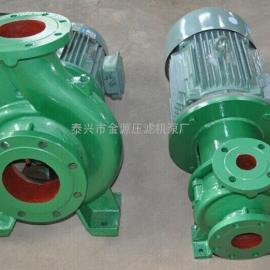 金源供��ISW污水泵、直�B式管道污水泵、�o堵塞化工泵