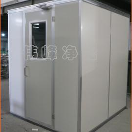 内不锈钢外彩钢板 双人双吹风淋室FLS-2C 大风机超净