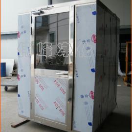 内外侧不锈钢板风淋房 双人双吹风淋室 洁净FLS-2C