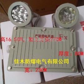 防爆壁式双头应急灯CCB/JB型 2x15W