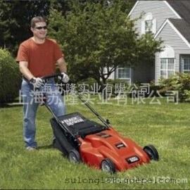 美国百得1600W割草机、美国百得电动草坪机