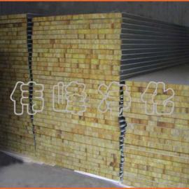 岩棉板 50厚度岩棉板 0.476 钢板厚度 防火板