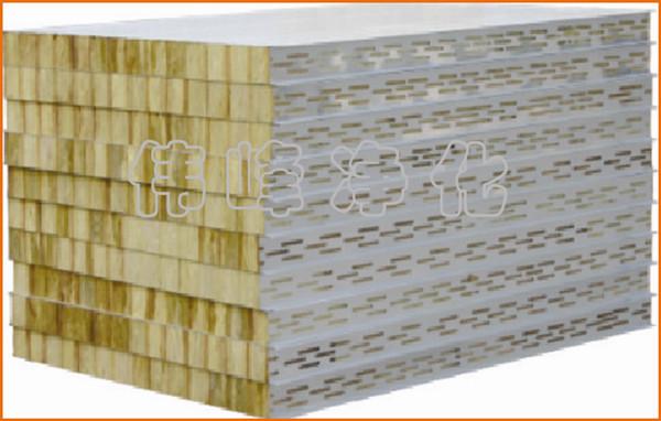 岩棉板 50厚度岩棉板 0.5钢板厚度 防火板