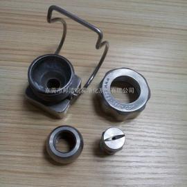 金属可调球型扇形喷头喷嘴,夹扣喷嘴