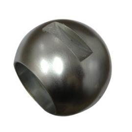 不锈钢硬密封直通球体