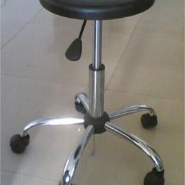 防静电气动升降圆凳注塑面
