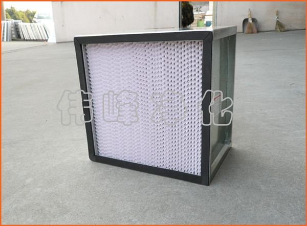 铁框高效过滤器 600*600*120 风淋室高效过滤器