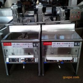 供应汇鸿机械500电加热半自动油炸机