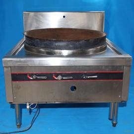 不锈钢单头大炒炉 不锈钢电磁单头大炒灶、厂家直销质量保证
