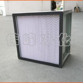 铁框高效过滤器 600*600*220 镀锌框过滤芯